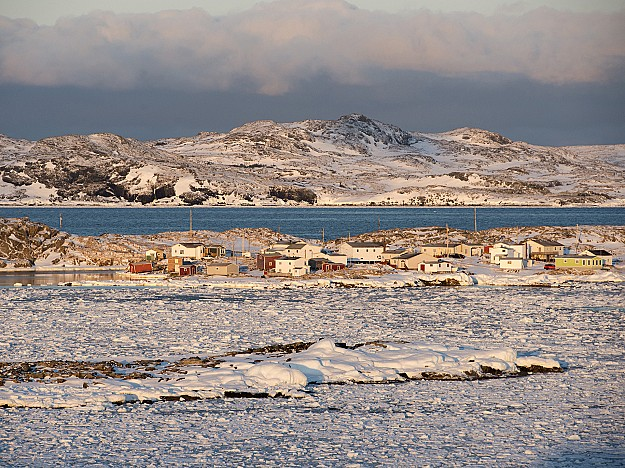 Pack Ice Season on Fogo Island, community of Barr'd Islands