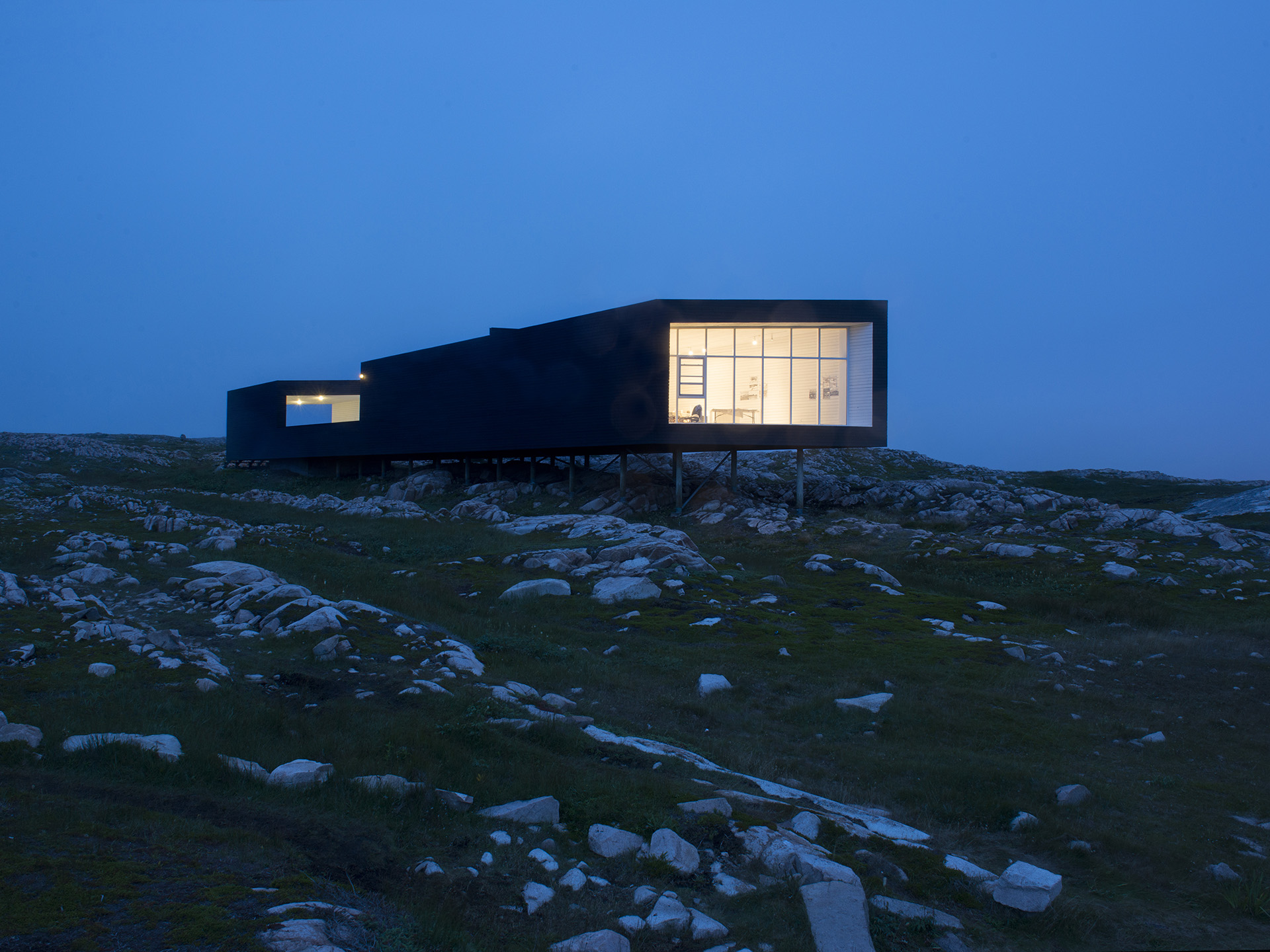 Long Studio, Shorefast Foundation, Fogo Island