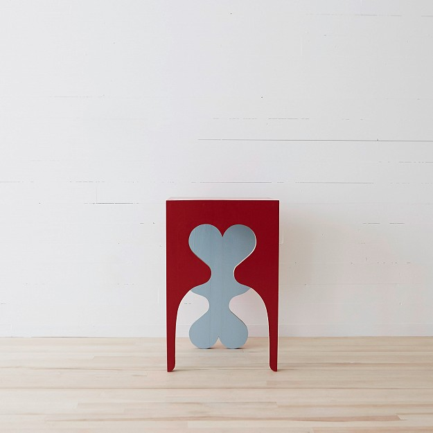 Sweetheart Puppy Table from the Woodshop on Fogo Island, designed by Nick Herder